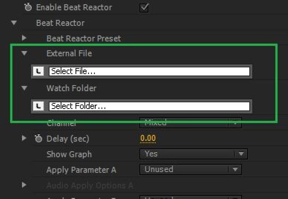 Boris FX | BCC Beat Reactor Integrated
