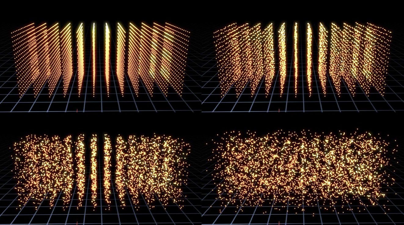 Particle Array 3D 4