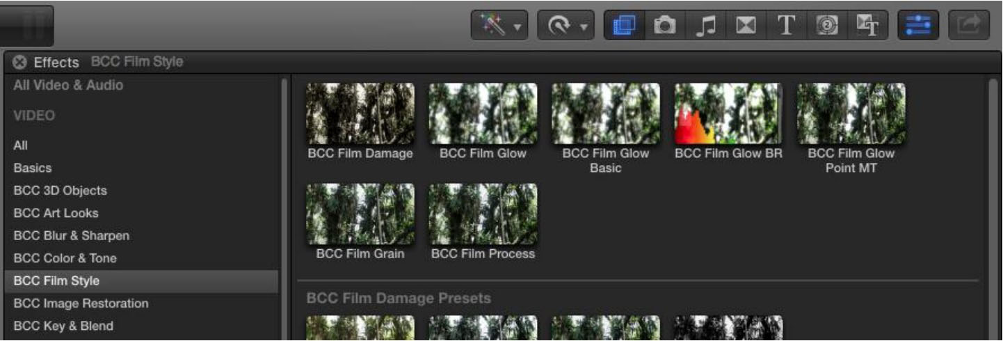 Boris FX | BCC Overview in FCP