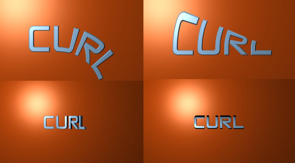 curl direction