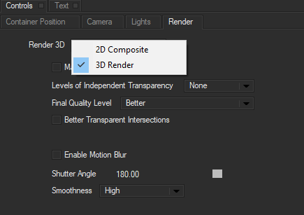 Render Mode2