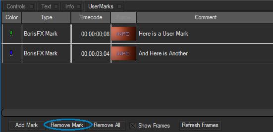 remove mark