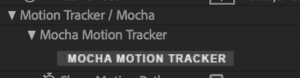 Mocha Motion Tracker
