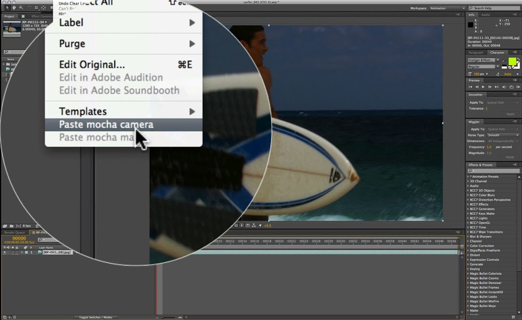 Boris FX | Tutorial: Camera Solving for Moving Objects
