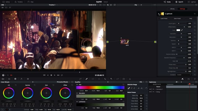 introduction to sapphire plug ins for resolve
