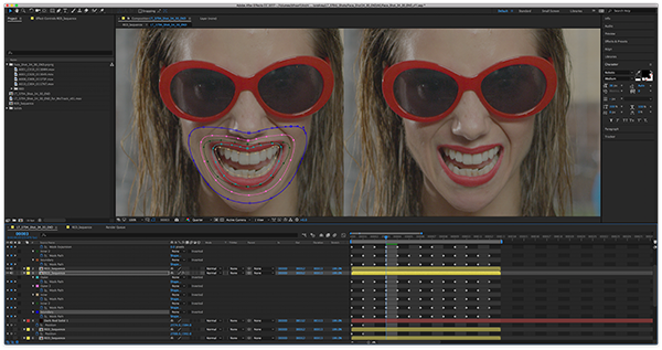 Mocha from Boris FX can be used for rotoscoping and planar tracking