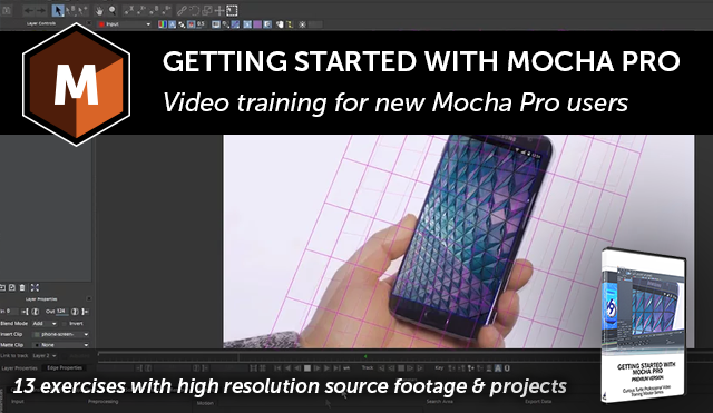 Boris FX | Getting Started with Mocha Pro