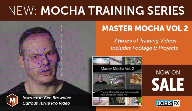 Boris FX | New Mocha Training Series Now Available
