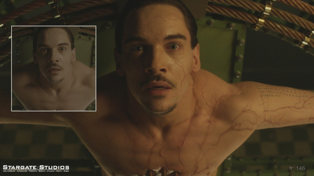 Dracula: Before/After VFX