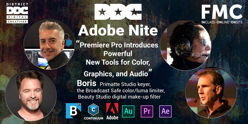 District Digital Creatives: Adobe Nite banner