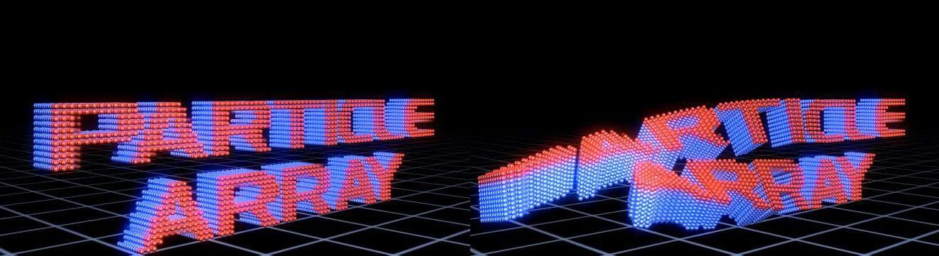 Particle Array 3D 5
