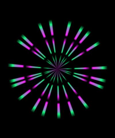 lensflare.rays.loop.bckfrth