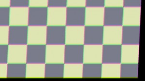 Same Shake Applied to Checkerboard