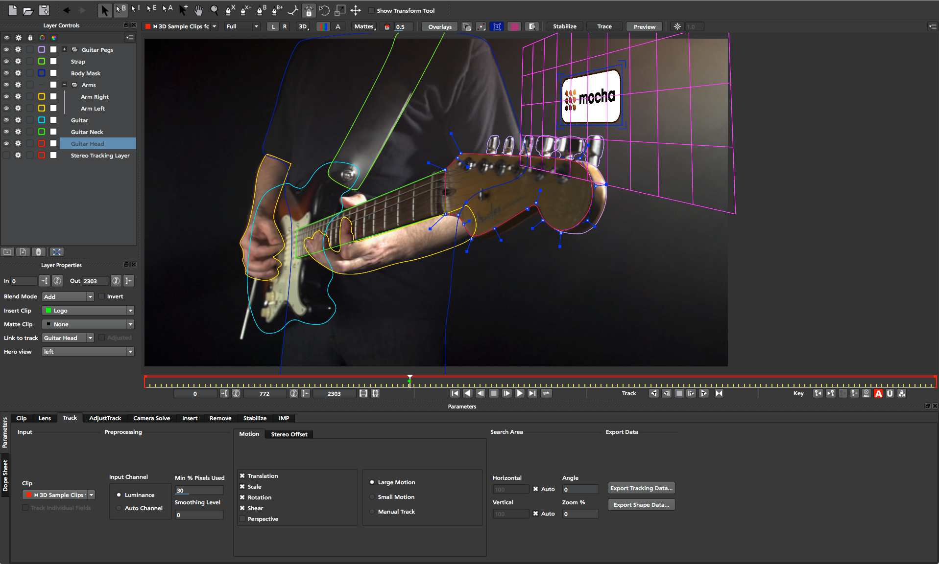 boris fx imagineer systems releases mocha pro 4 new features and rh borisfx com After Effects FX Boris Gets Grounded Red