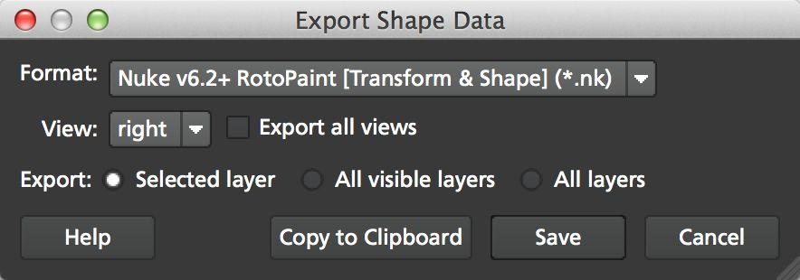 4.0.0 Export Shape Data