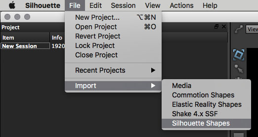5.0.0 export silhouette shape data workflow