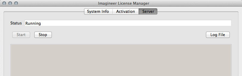 Mac OSX License Manager