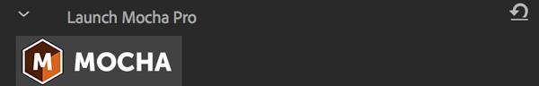 mochapro premiere plugin launch mocha