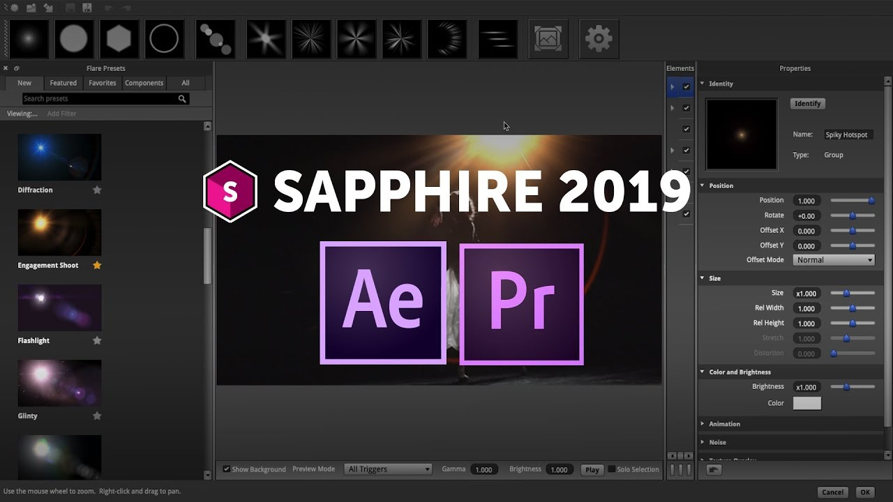 Boris FX | Sapphire 2019: New Features for Adobe After