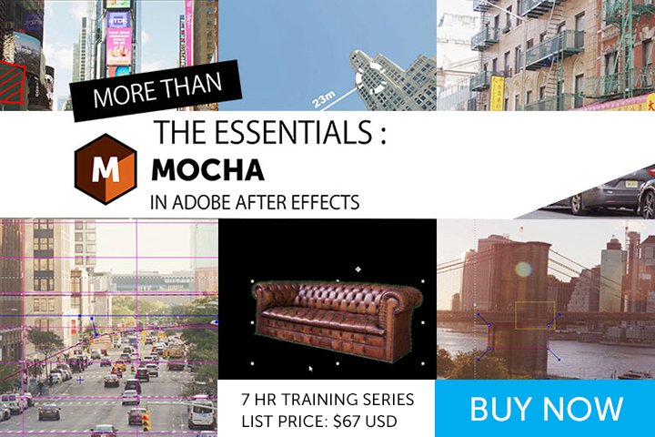dda3c2db99d00e More Than the Essentials  Mocha in After Effects