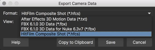 EXPORT CameraSolve