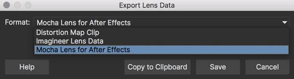 lens exportlensdata ae