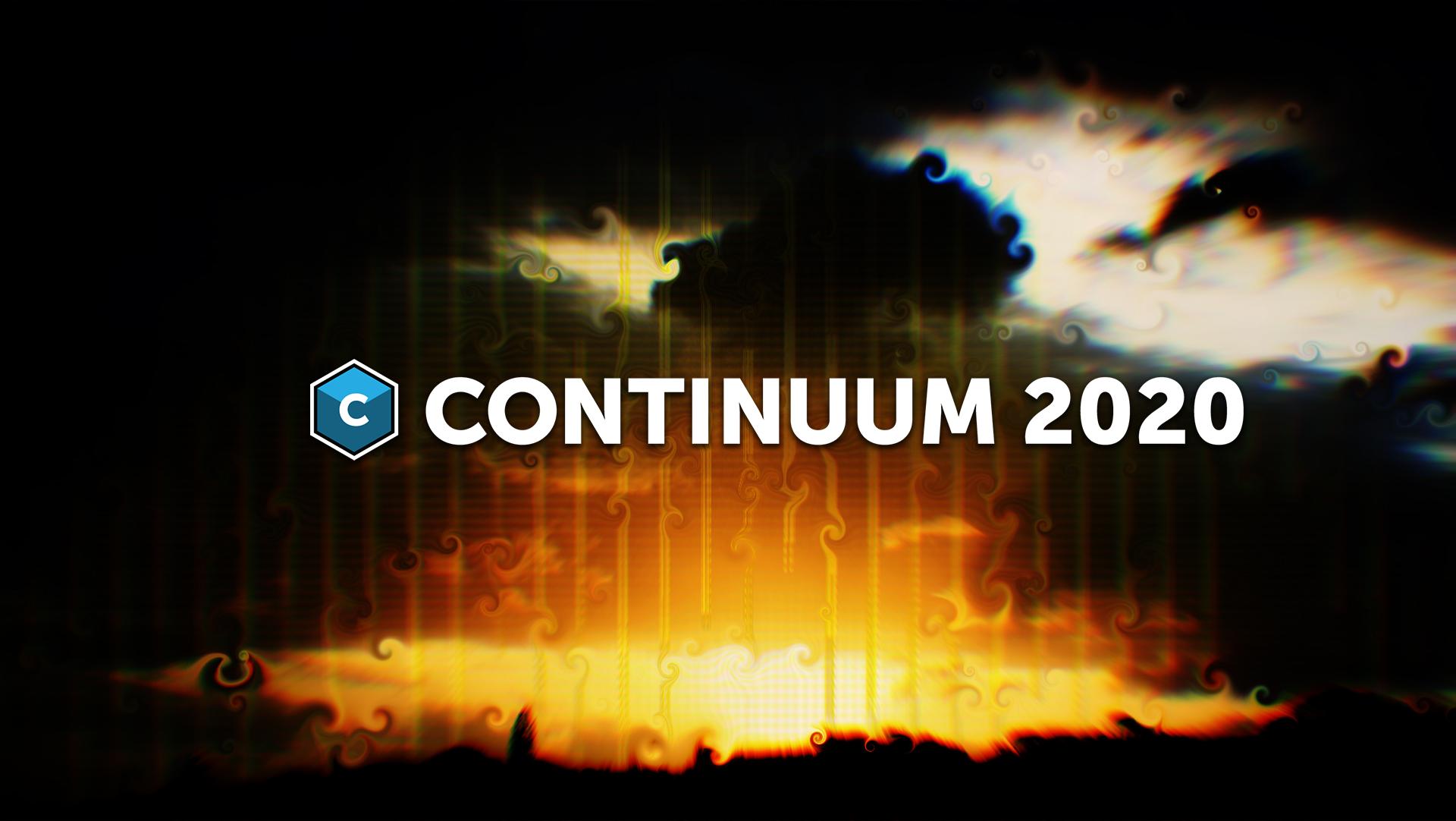 Continuum 2020 banner image