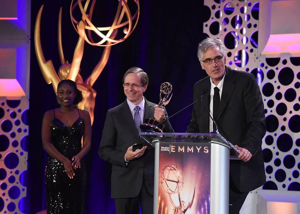 Boris FX Sapphire accepts Emmy