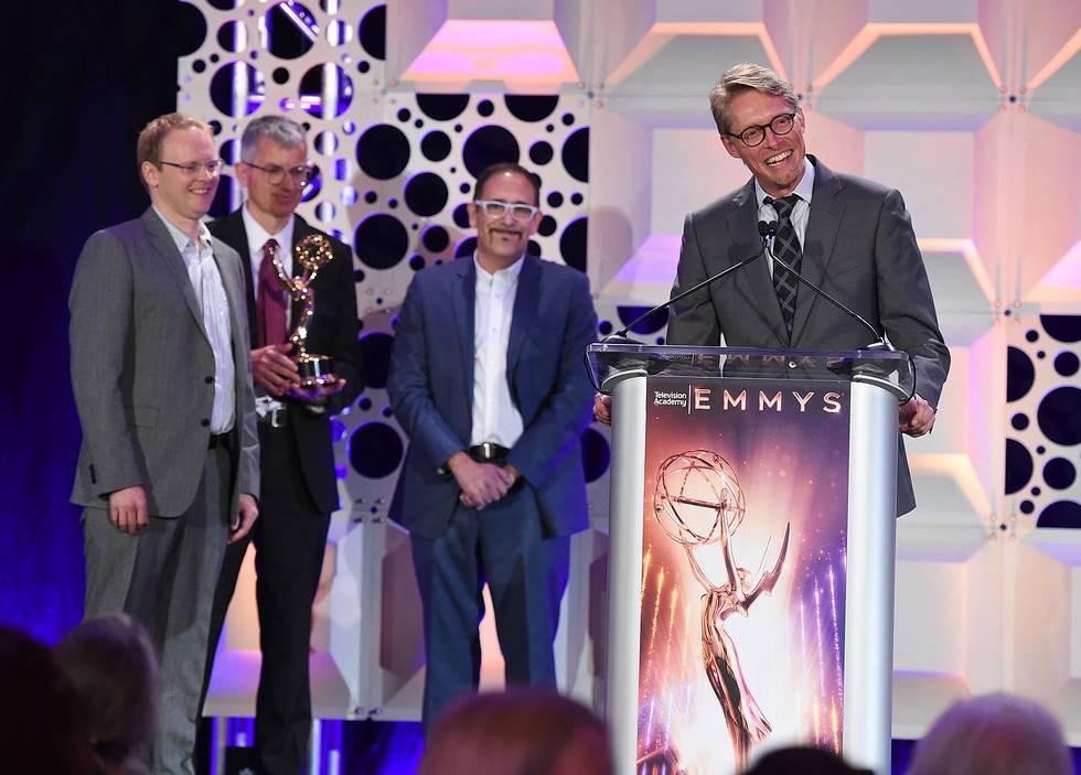 Boris FX Mocha Pro team receives Emmy