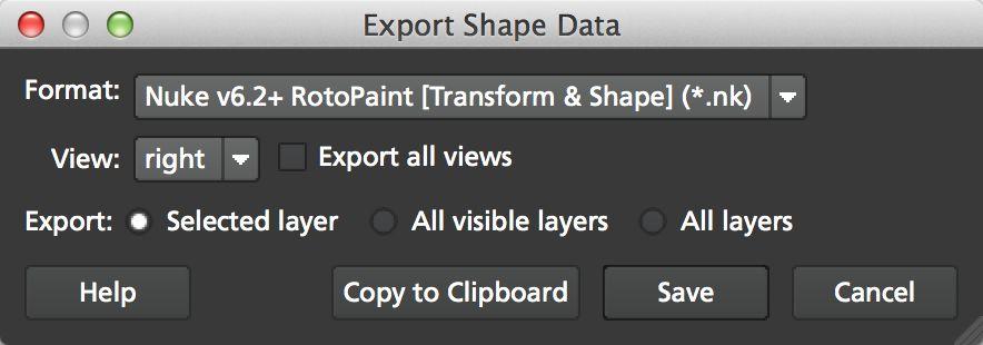 4.0.0 Export Shape Data