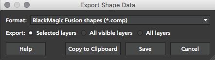 5.0.0 export fusion shape data