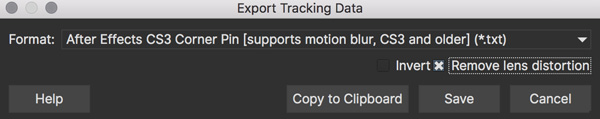 lens exporttrackingdata ae