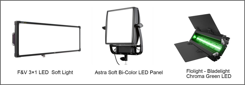 Green screen light options