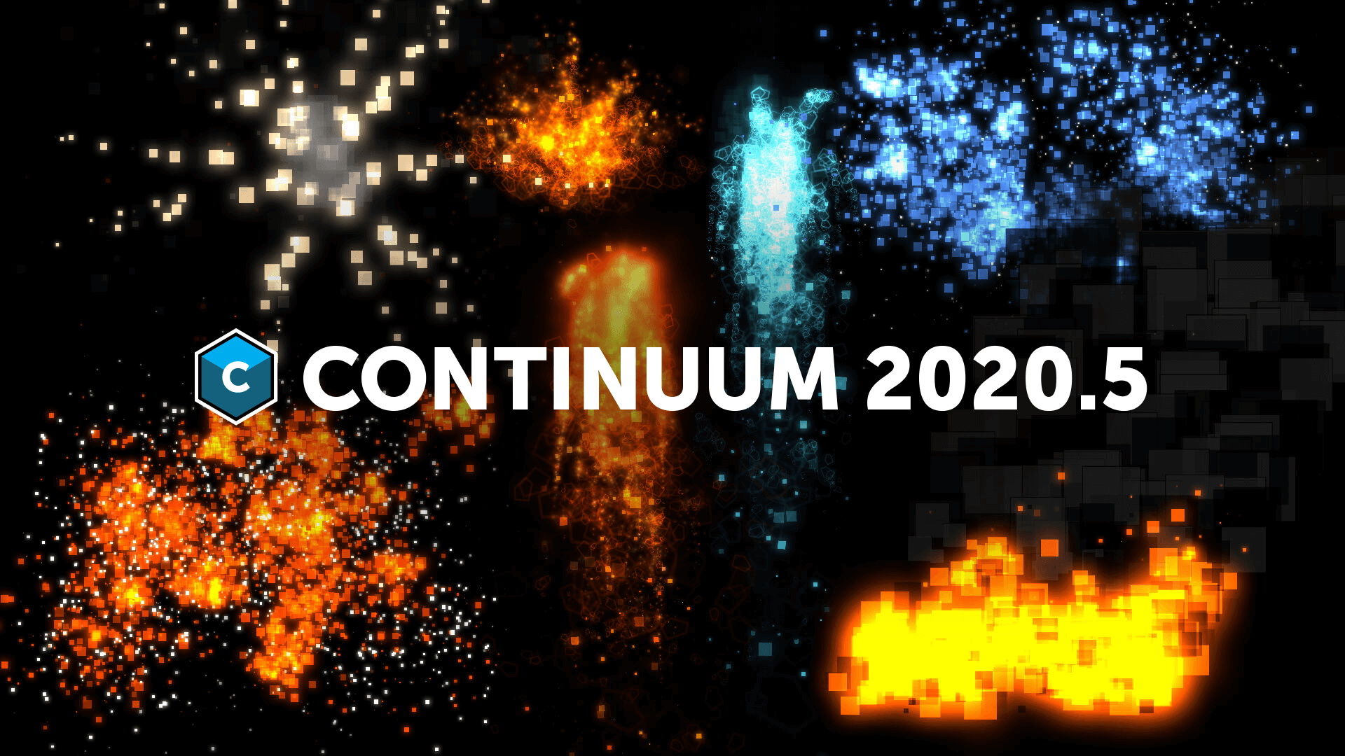 Continuum 2020.5 new Particle Illusion forces and emitters