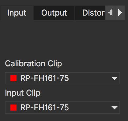 lens input