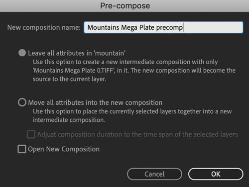 megaplates ae precomp