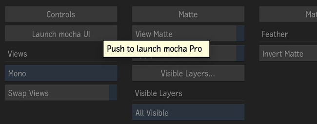 mochapro ofx flame plugin full interface