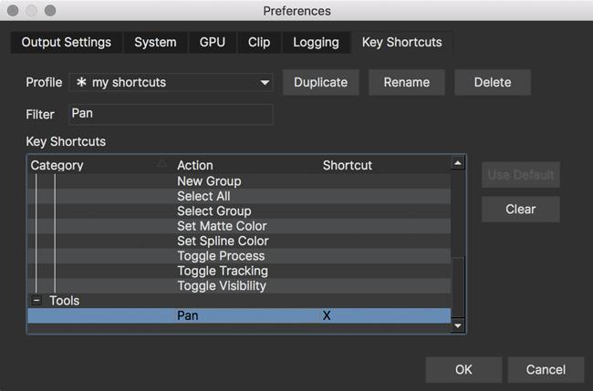 Key Shortcuts