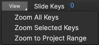 dopesheet zoom keys