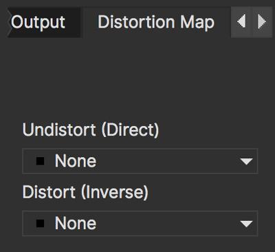 lens distortion map