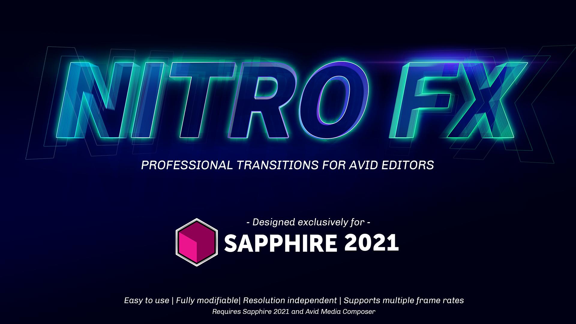 hero image for Nitro FX Transition Pack