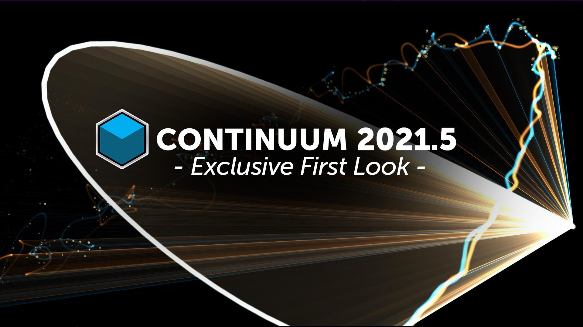 hero image for Continuum 2021.5 live stream