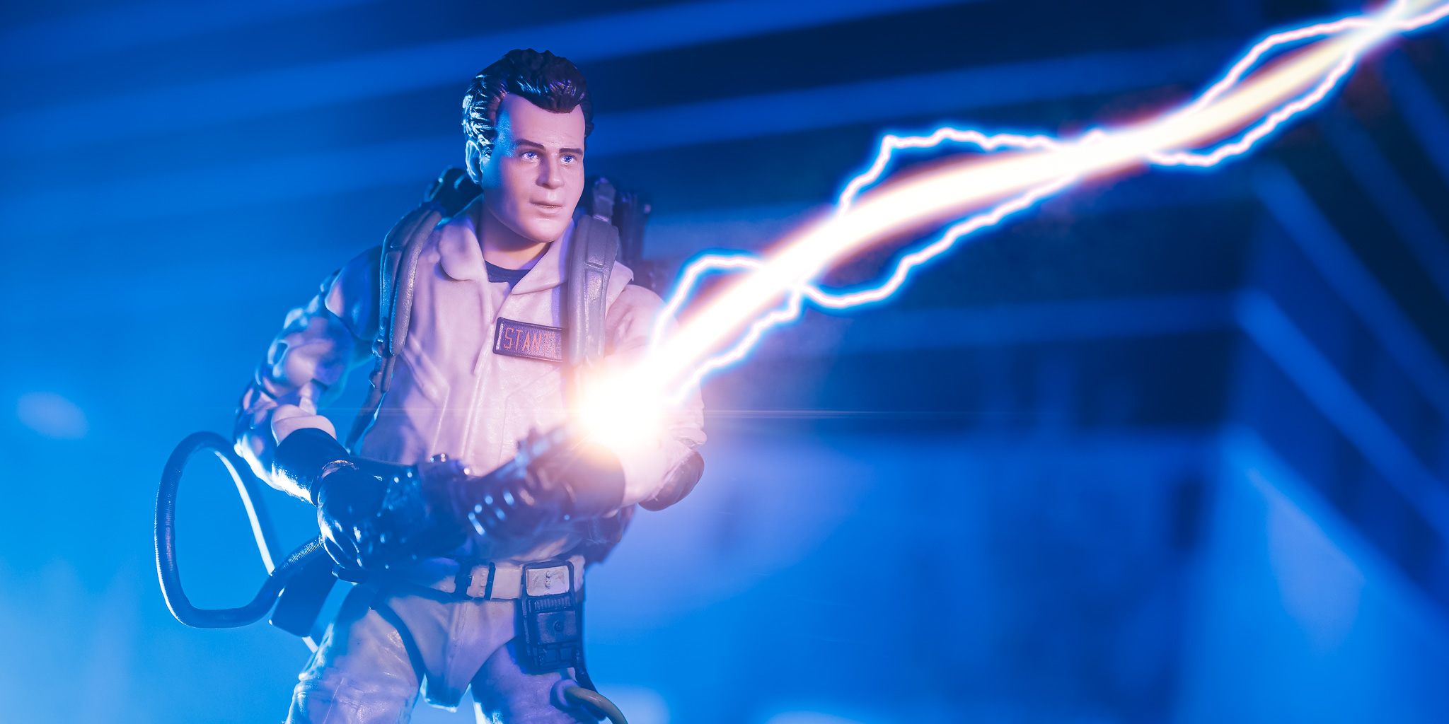 Ghostbusters with Optics lighting effects