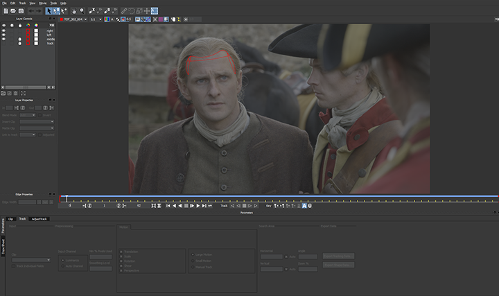 Outlander, tracking masks in AE