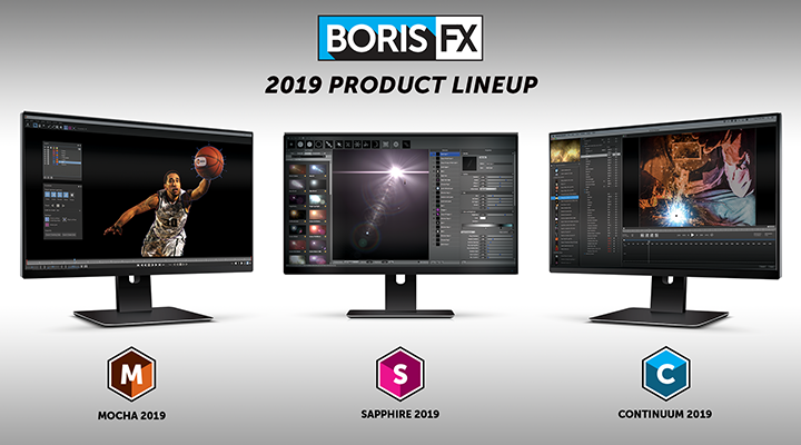 Banner image for Boris FX 2019 New Product Line-up