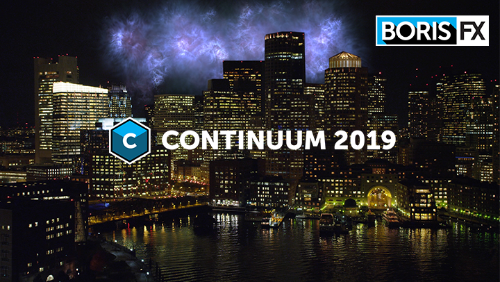 Continuum 2019 webinar banner with Particle Illusion