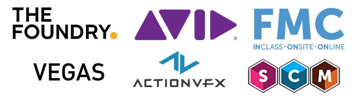 Raffle sponsor logos