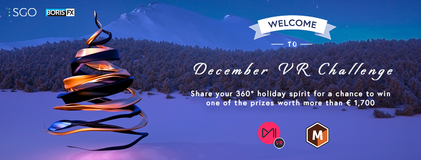 Banner image for SGO and Mocha Holiday VR Challenge