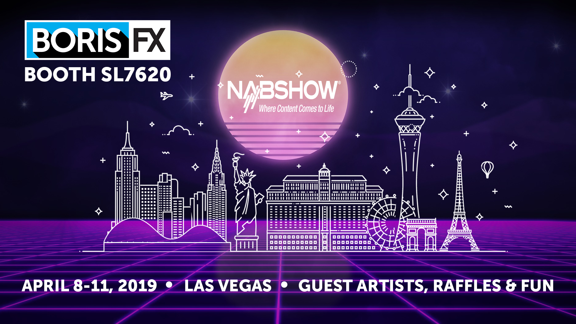 Boris FX at NAB 2019