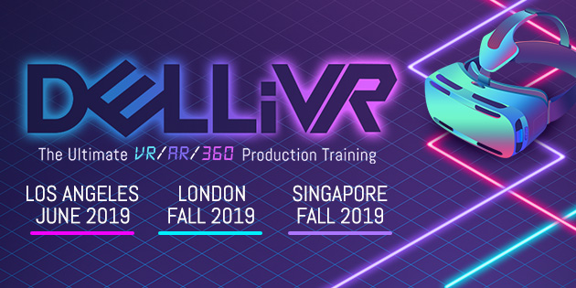 banner ad for DELLiVR Conference